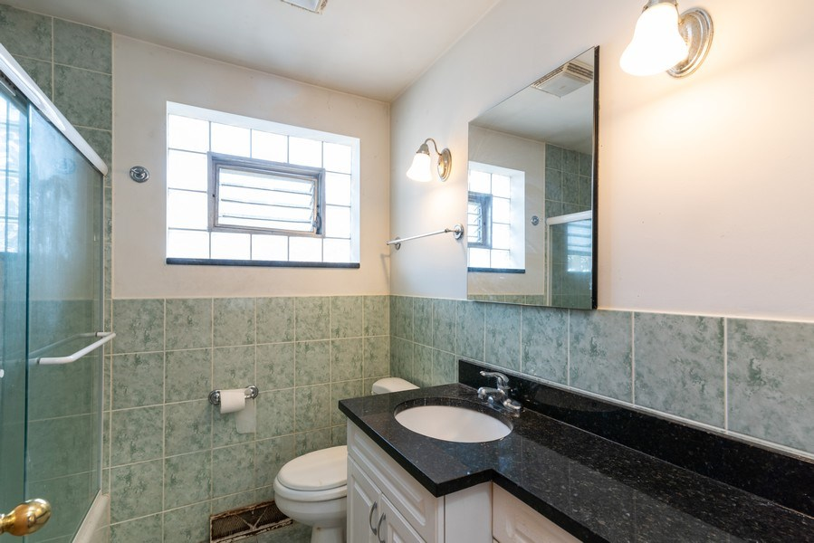 Real Estate Photography - 7825 W. Forest Preserve Drive, Chicago, IL, 60634 - Bathroom
