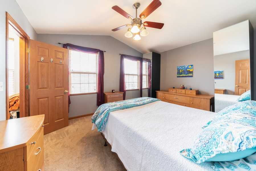 Real Estate Photography - 1756 Simms, Aurora, IL, 60504 - Master Bedroom