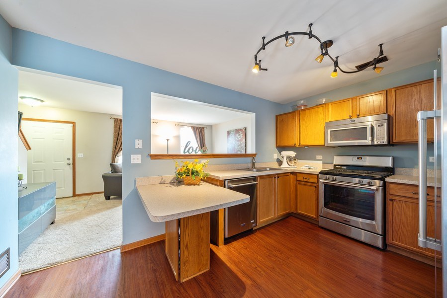 Real Estate Photography - 1756 Simms, Aurora, IL, 60504 - Kitchen