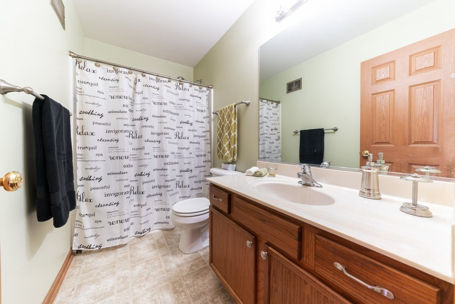 Real Estate Photography - 1756 Simms, Aurora, IL, 60504 - Full Bath