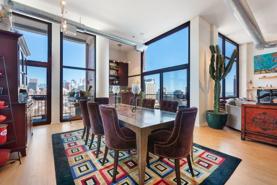 Real Estate Photography - 1530 S State 18 G, Chicago, IL, 60605 - Dining Room
