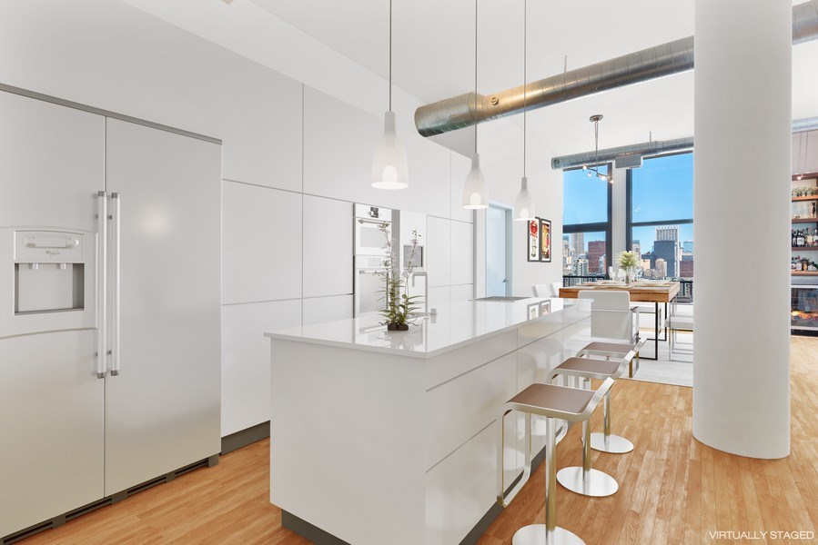 Real Estate Photography - 1530 S State 18 G, Chicago, IL, 60605 - Kitchen