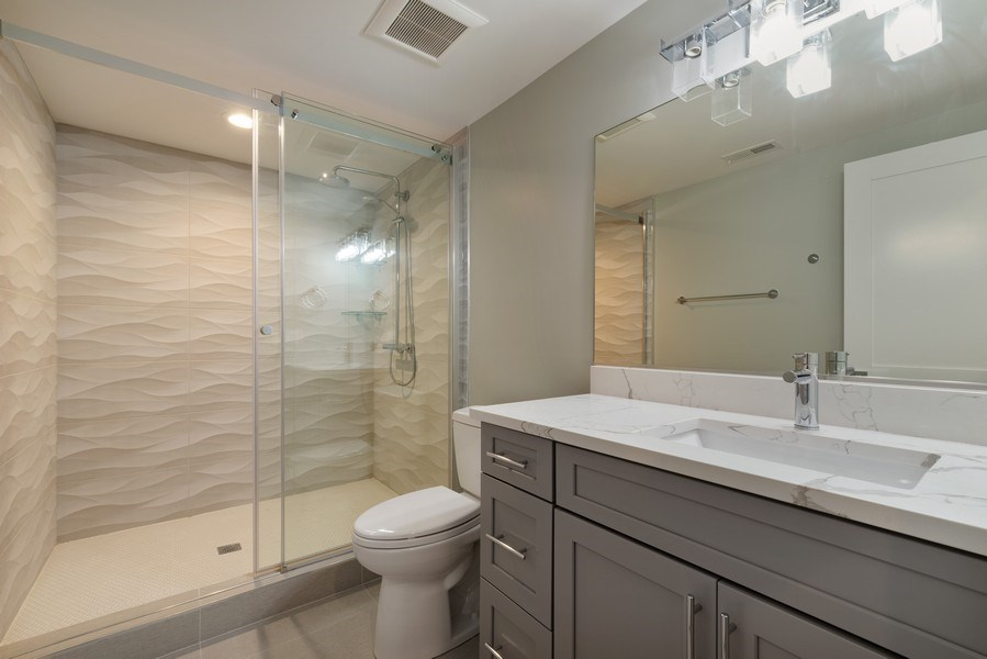 Real Estate Photography - 2241 Covert, Glenview, IL, 60025 - Bathroom