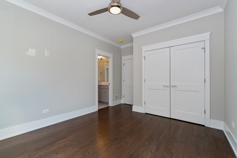 Real Estate Photography - 2241 Covert, Glenview, IL, 60025 - 4th Bedroom