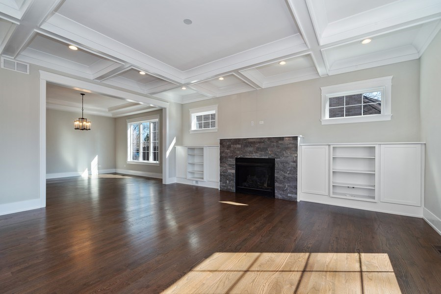 Real Estate Photography - 2241 Covert, Glenview, IL, 60025 - Family Room