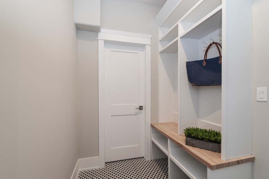 Real Estate Photography - 2241 Covert, Glenview, IL, 60025 - Mudroom