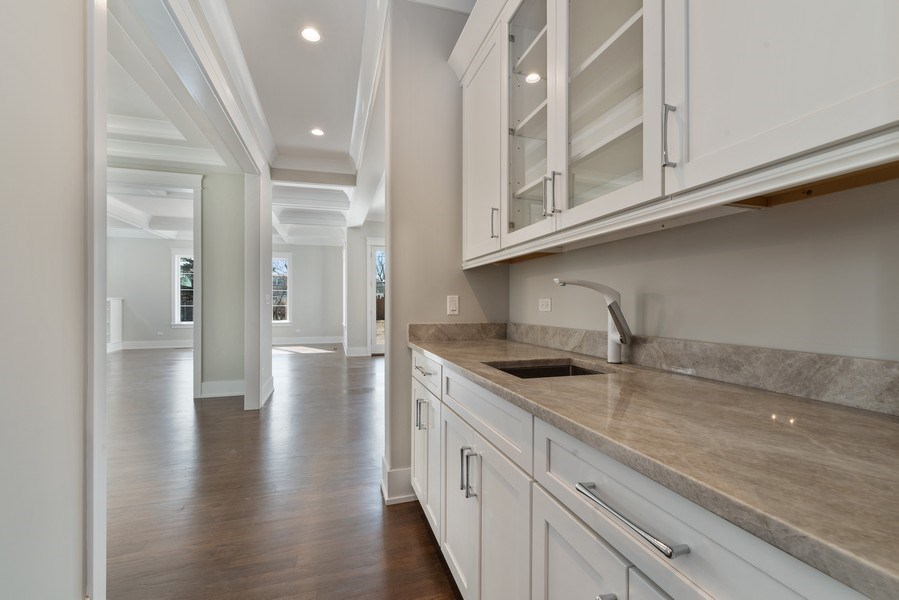 Real Estate Photography - 2241 Covert, Glenview, IL, 60025 - Butler's pantry