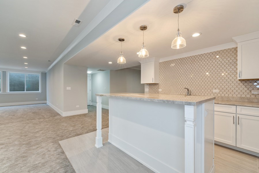 Real Estate Photography - 2241 Covert, Glenview, IL, 60025 - Basement
