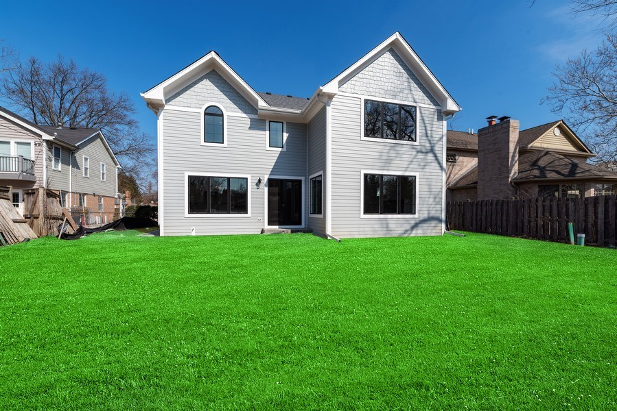 Real Estate Photography - 2241 Covert, Glenview, IL, 60025 - Back Yard