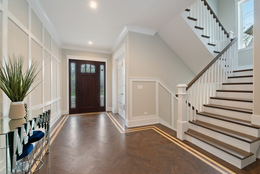 Real Estate Photography - 2241 Covert, Glenview, IL, 60025 - Foyer