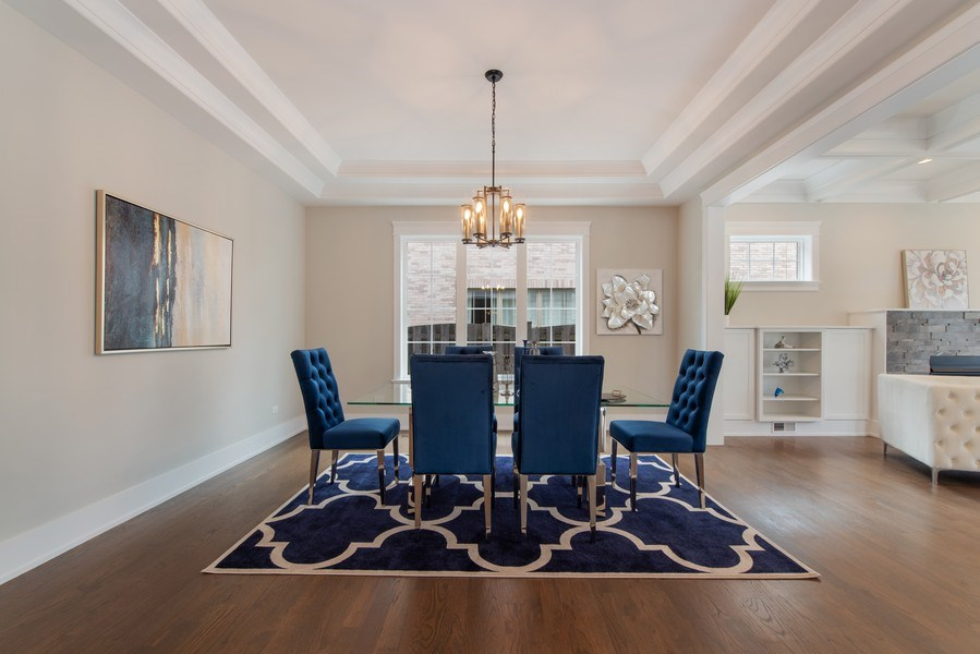 Real Estate Photography - 2241 Covert, Glenview, IL, 60025 - Dining Room