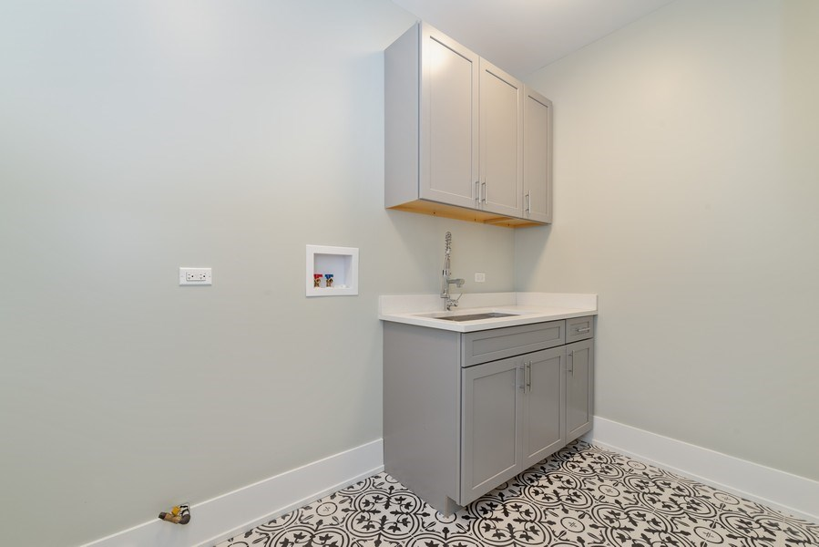 Real Estate Photography - 2241 Covert, Glenview, IL, 60025 - Laundry Room