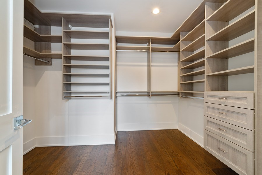 Real Estate Photography - 2241 Covert, Glenview, IL, 60025 - Closet