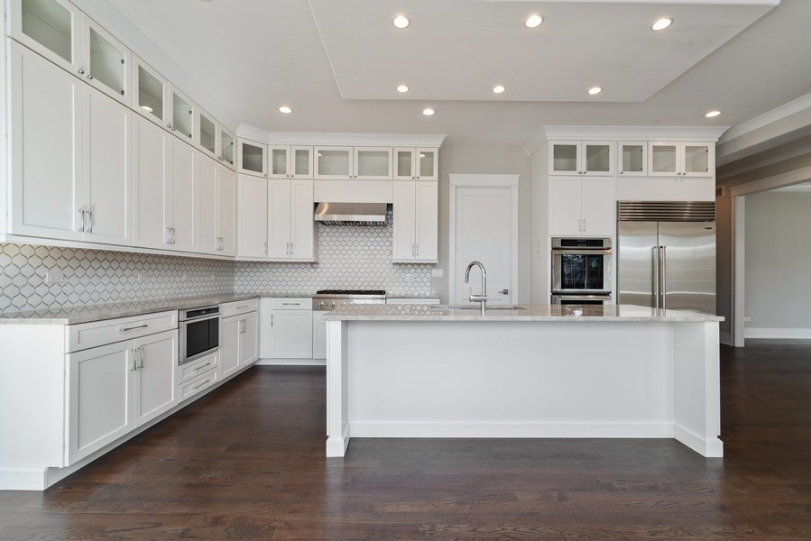 Real Estate Photography - 2241 Covert, Glenview, IL, 60025 - Kitchen