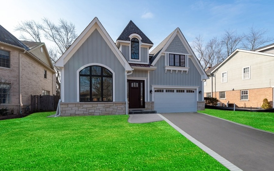 Real Estate Photography - 2241 Covert, Glenview, IL, 60025 - Front View