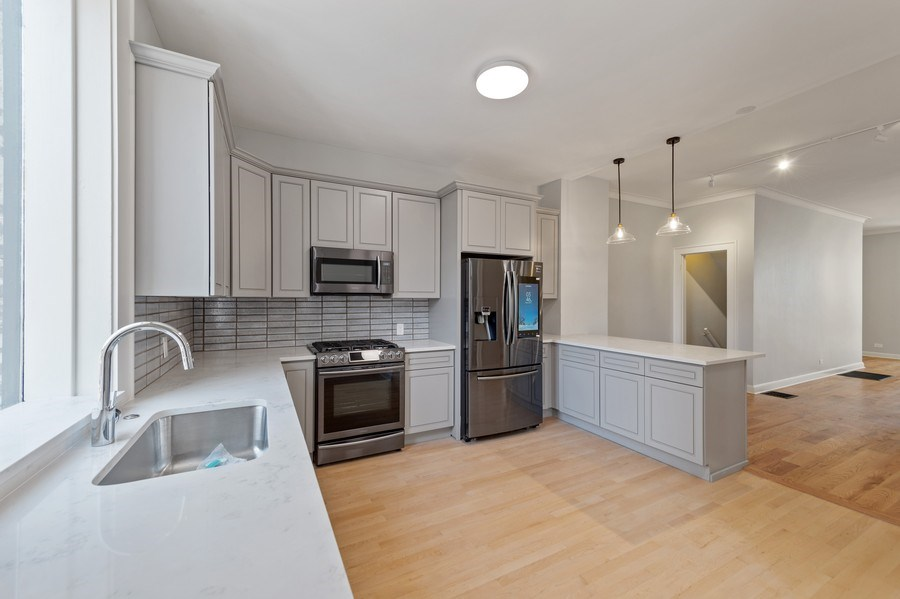 Real Estate Photography - 5408 S Kimbark Ave, Chicago, IL, 60615 - Kitchen