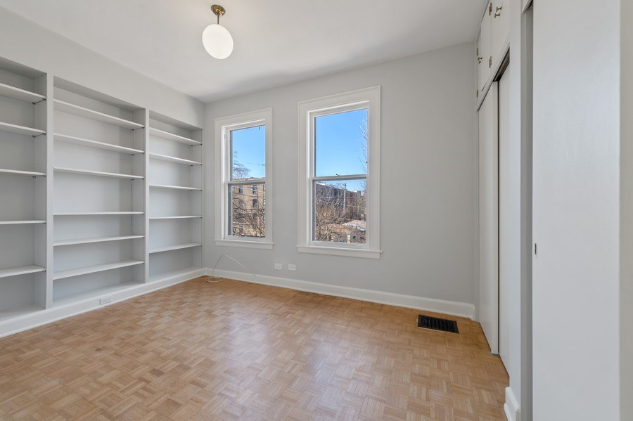 Real Estate Photography - 5408 S Kimbark Ave, Chicago, IL, 60615 - Bedroom