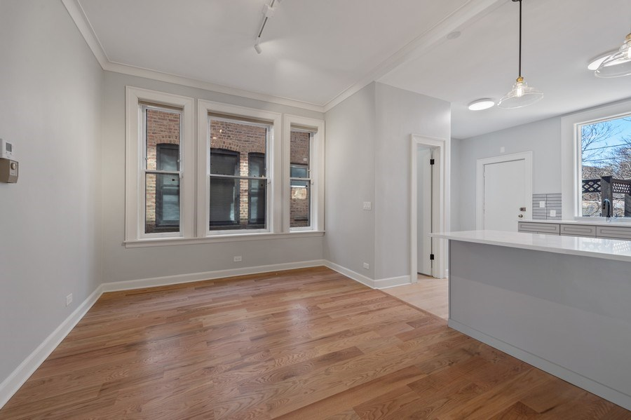 Real Estate Photography - 5408 S Kimbark Ave, Chicago, IL, 60615 - Dining Room