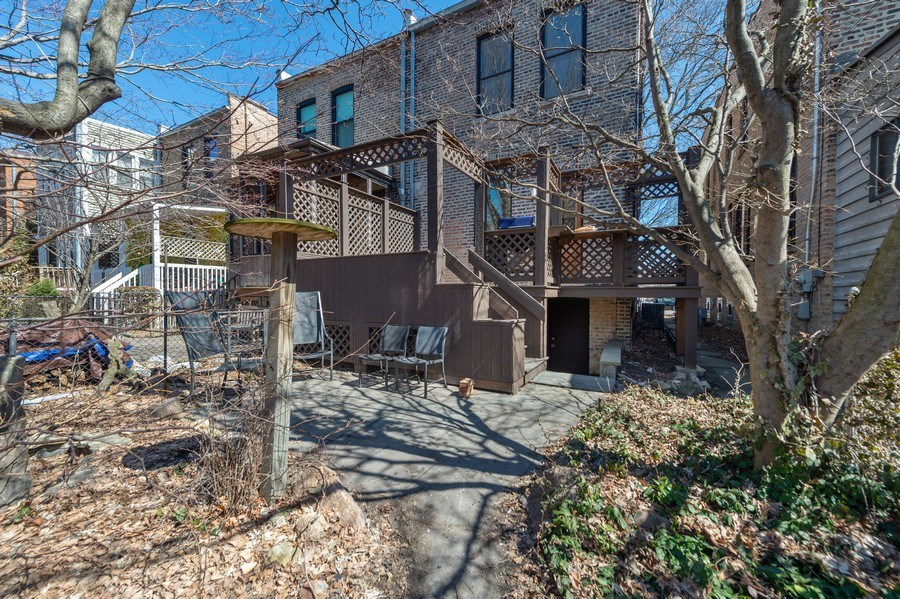 Real Estate Photography - 5408 S Kimbark Ave, Chicago, IL, 60615 - Back Yard