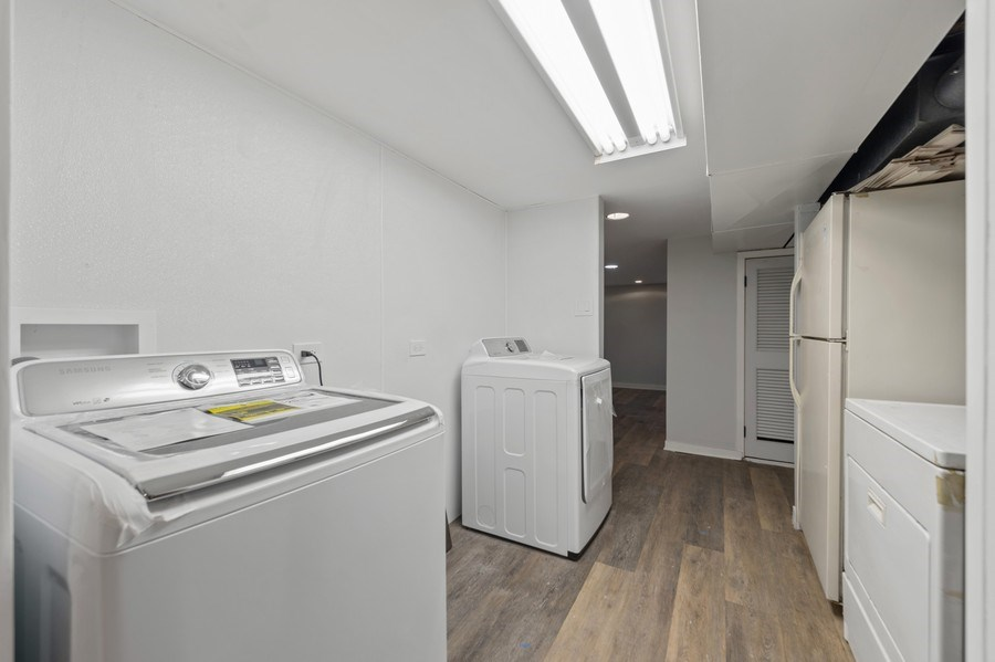 Real Estate Photography - 5408 S Kimbark Ave, Chicago, IL, 60615 - Laundry Room