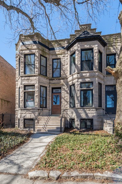 Real Estate Photography - 5408 S Kimbark Ave, Chicago, IL, 60615 - Front View