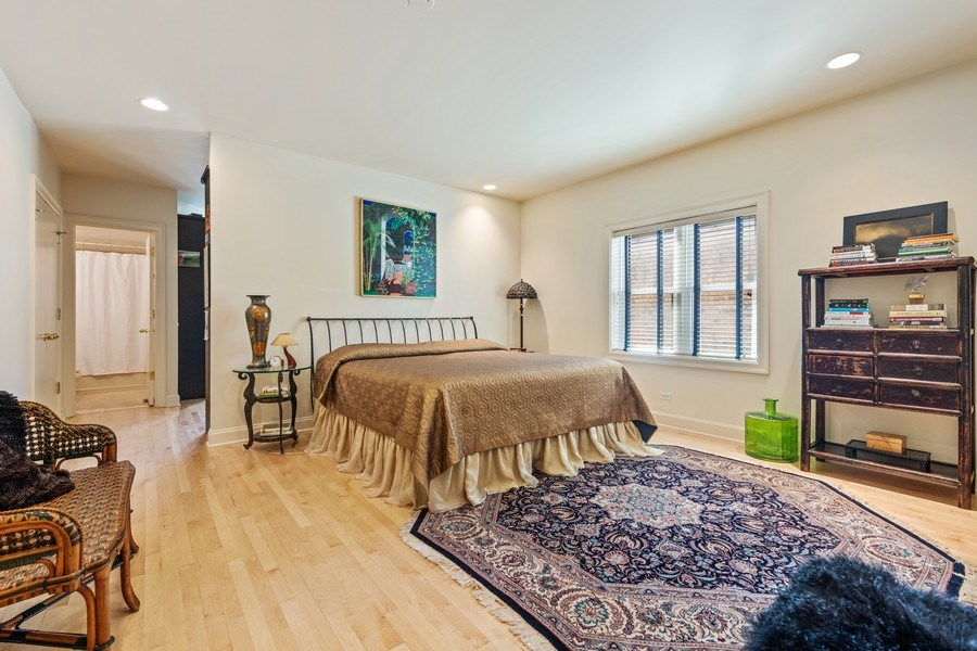 Real Estate Photography - 1939 N Hudson Ave, Chicago, IL, 60614 - 2nd Bedroom
