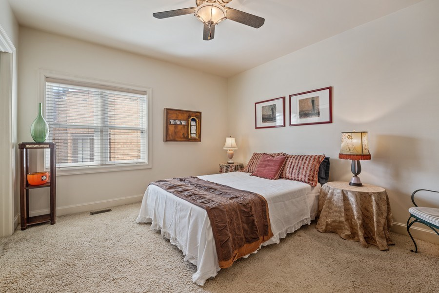 Real Estate Photography - 1939 N Hudson Ave, Chicago, IL, 60614 - 3rd Bedroom