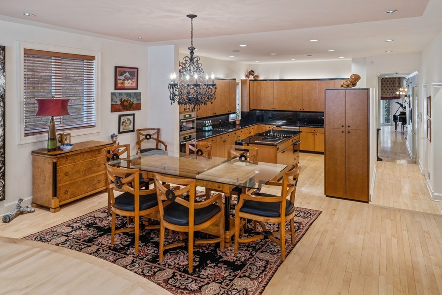 Real Estate Photography - 1939 N Hudson Ave, Chicago, IL, 60614 - Kitchen / Breakfast Room