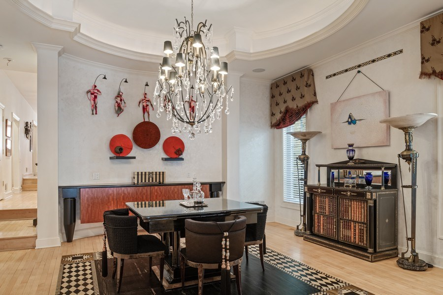 Real Estate Photography - 1939 N Hudson Ave, Chicago, IL, 60614 - Dining Room