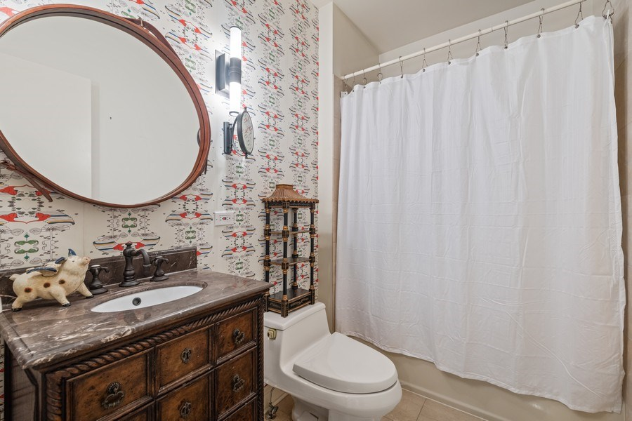 Real Estate Photography - 1939 N Hudson Ave, Chicago, IL, 60614 - 2nd Floor Bath