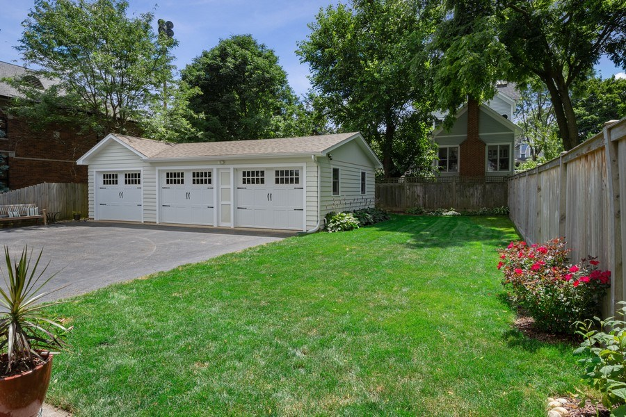 Real Estate Photography - 131 W Station St, Barrington, IL, 60010 - Back Yard