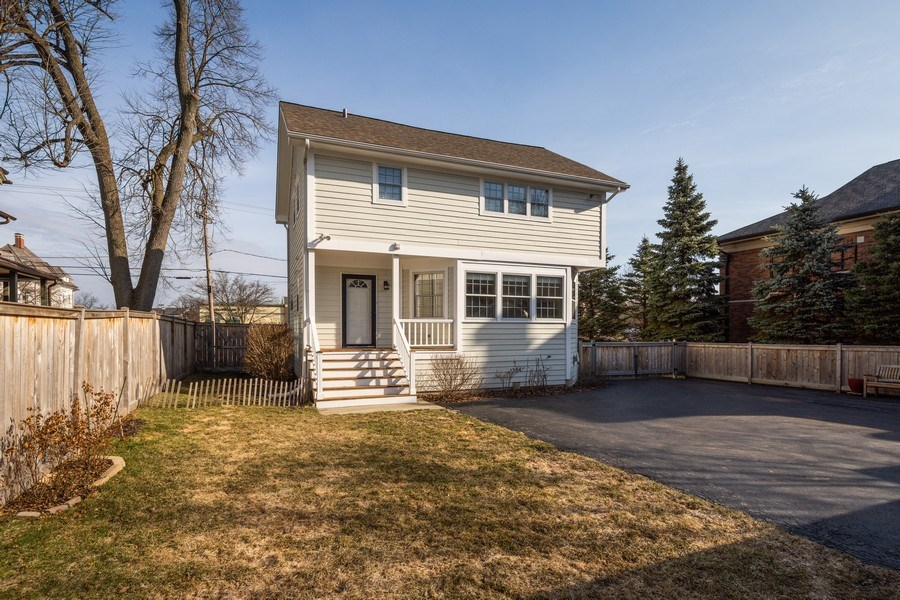 Real Estate Photography - 131 W Station St, Barrington, IL, 60010 - Rear View