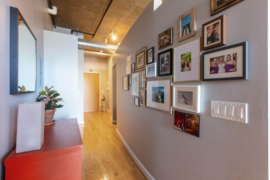 Real Estate Photography - 111 S Morgan, Unit 803, Chicago, IL, 60607 - Hallway