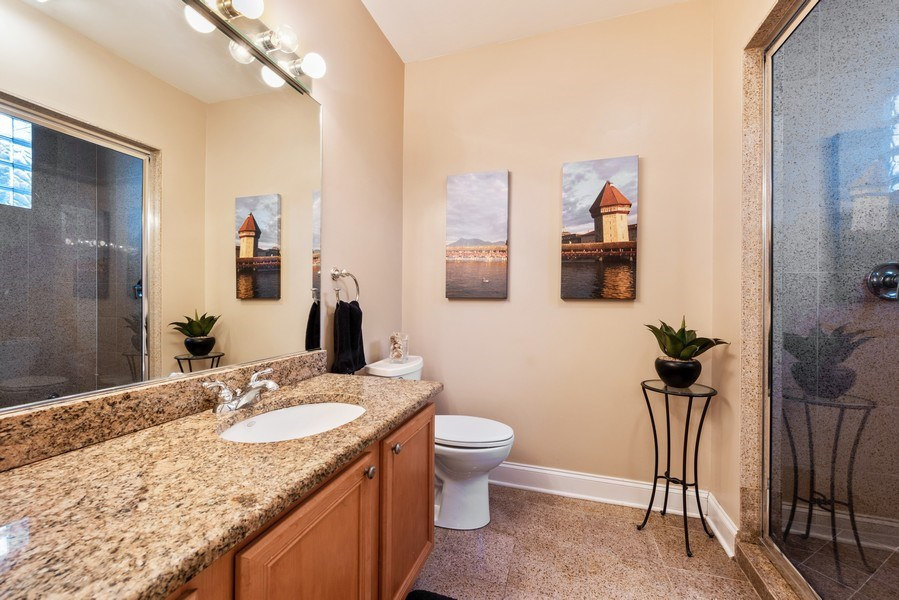 Real Estate Photography - 1968 W Foster Ave, Unit D, Chicago, IL, 60640 - Master Bathroom
