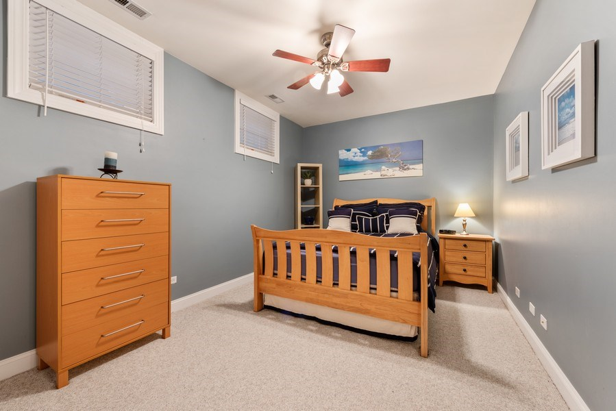 Real Estate Photography - 1968 W Foster Ave, Unit D, Chicago, IL, 60640 - 2nd Bedroom