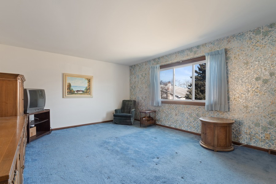 Real Estate Photography - 3612 Liberty Lane, Glenview, IL, 60025 - Master Bedroom