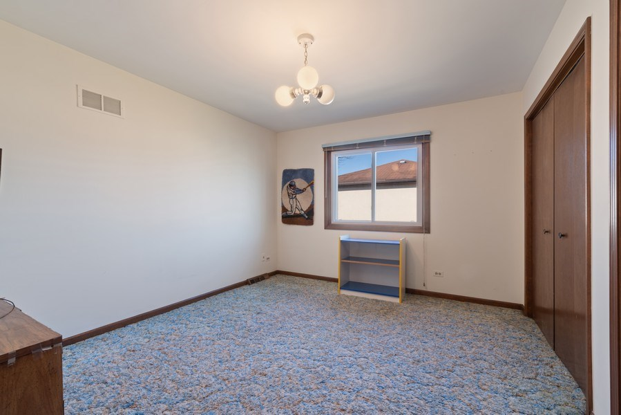 Real Estate Photography - 3612 Liberty Lane, Glenview, IL, 60025 - 2nd Bedroom