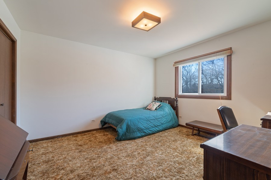 Real Estate Photography - 3612 Liberty Lane, Glenview, IL, 60025 - 3rd Bedroom