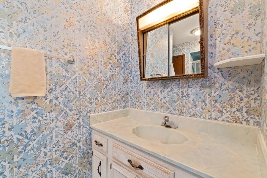 Real Estate Photography - 3612 Liberty Lane, Glenview, IL, 60025 - Master Bathroom