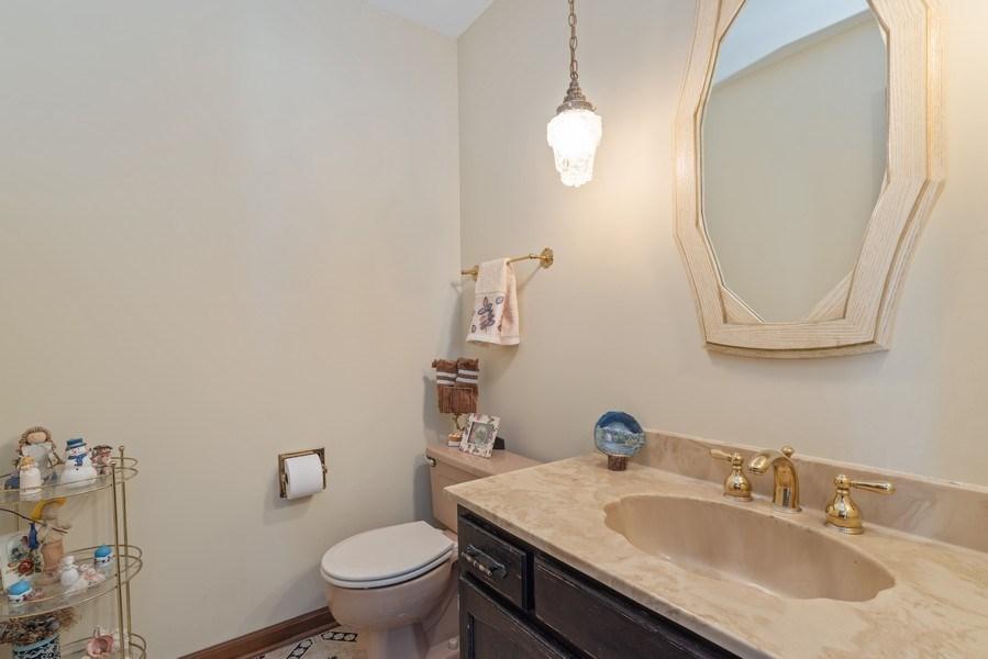 Real Estate Photography - 3612 Liberty Lane, Glenview, IL, 60025 - Powder Room