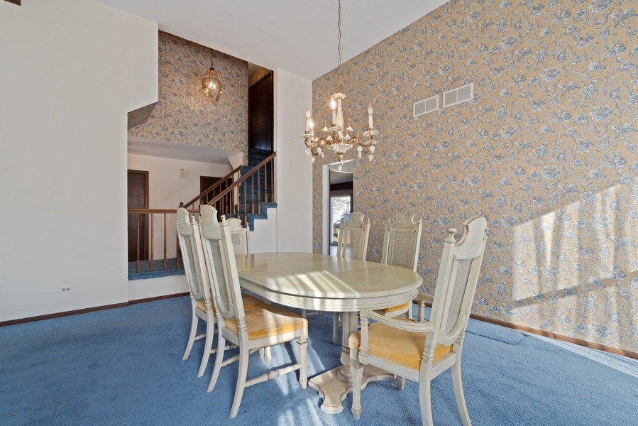Real Estate Photography - 3612 Liberty Lane, Glenview, IL, 60025 - Dining Room