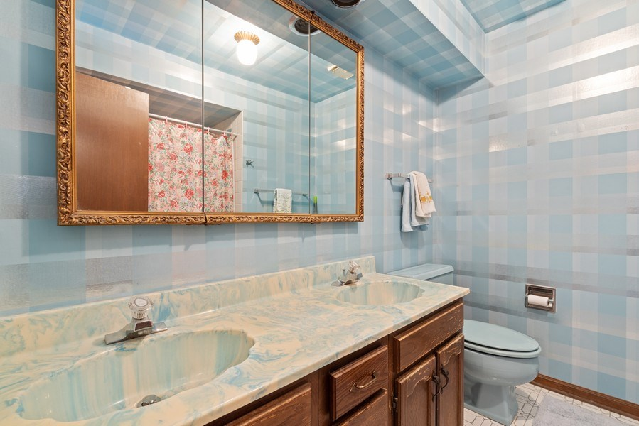Real Estate Photography - 3612 Liberty Lane, Glenview, IL, 60025 - Bathroom