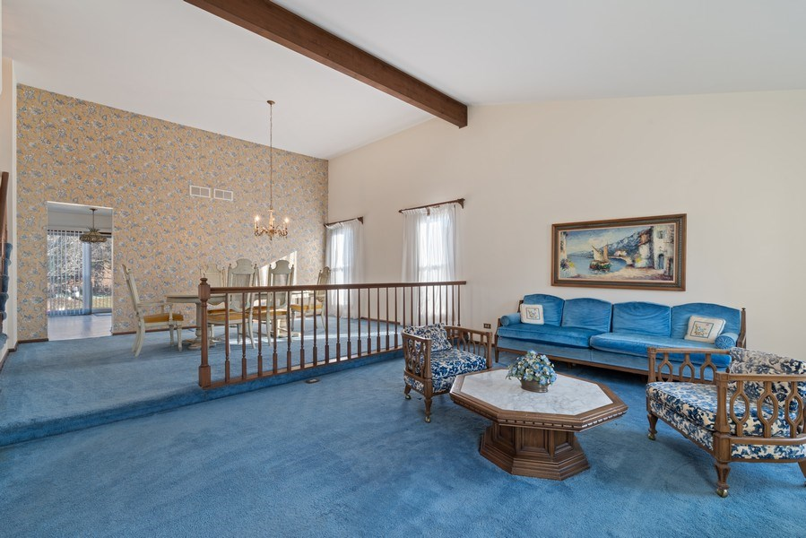 Real Estate Photography - 3612 Liberty Lane, Glenview, IL, 60025 - Kitchen / Dining Room