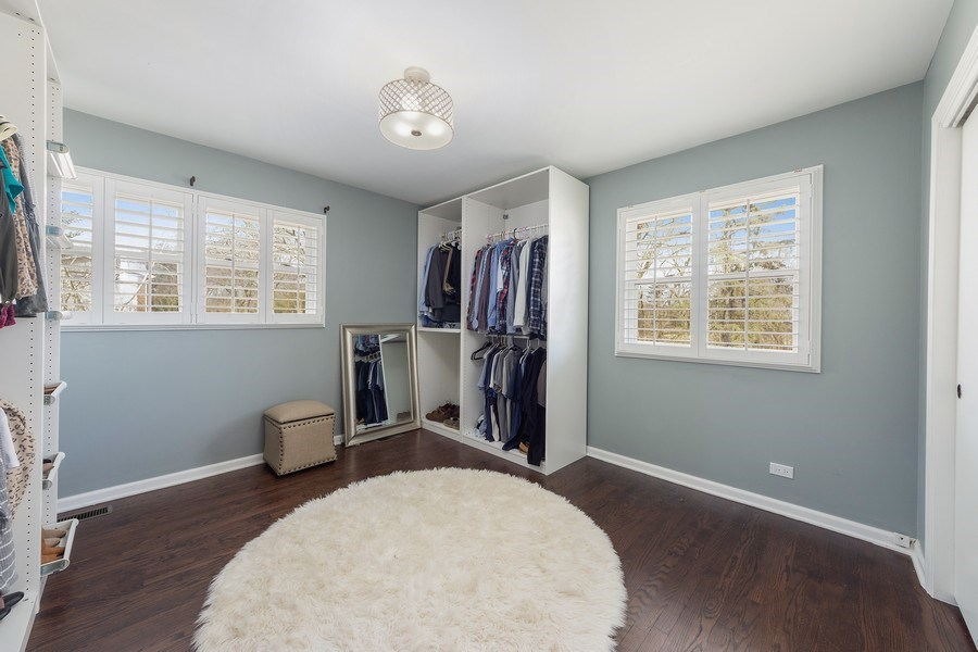 Real Estate Photography - 210 Roberts road, Inverness, IL, 60010 - 3rd Bedroom