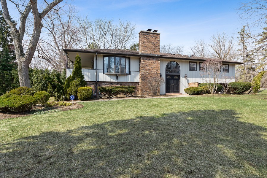 Real Estate Photography - 210 Roberts road, Inverness, IL, 60010 - Front View
