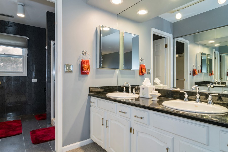 Real Estate Photography - 4234 N. Walnut Ave, Arlington Heights, IL, 60004 - Master Bathroom