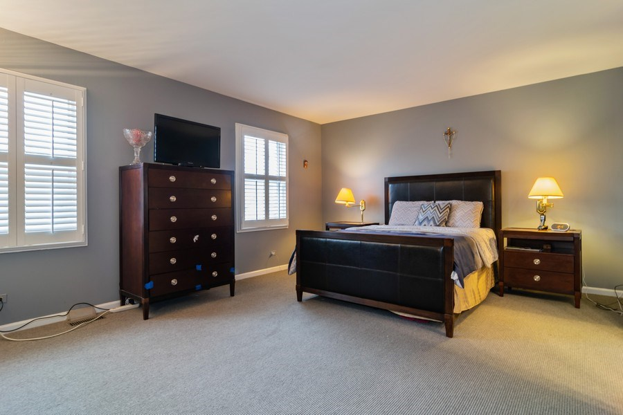 Real Estate Photography - 4234 N. Walnut Ave, Arlington Heights, IL, 60004 - Master Bedroom