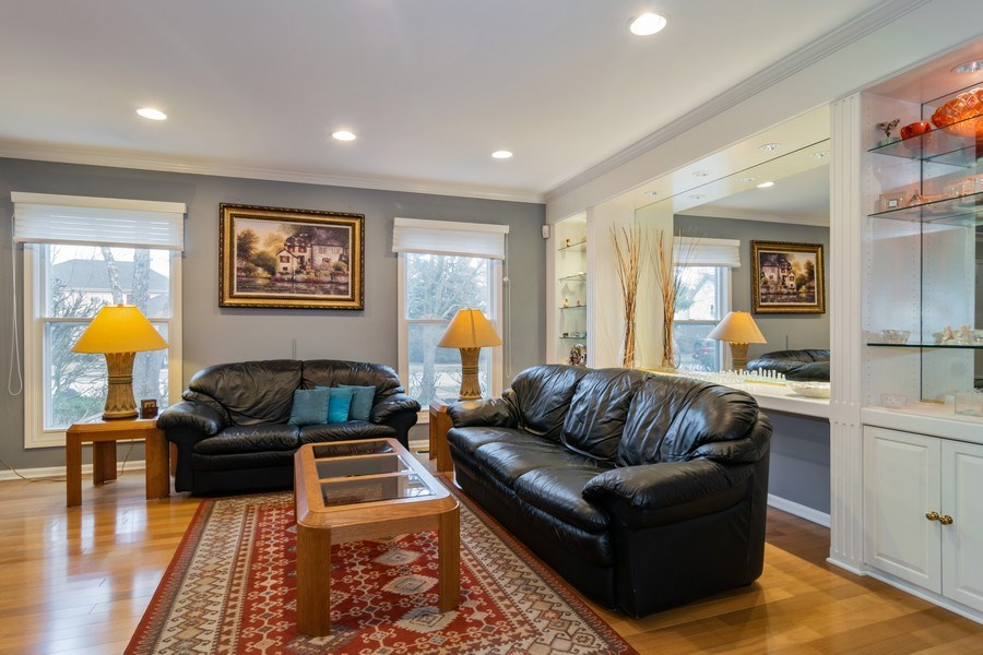 Real Estate Photography - 4234 N. Walnut Ave, Arlington Heights, IL, 60004 - Living Room