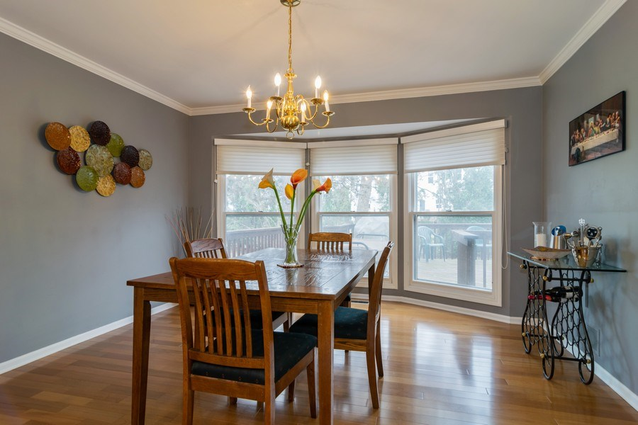 Real Estate Photography - 4234 N. Walnut Ave, Arlington Heights, IL, 60004 - Dining Room