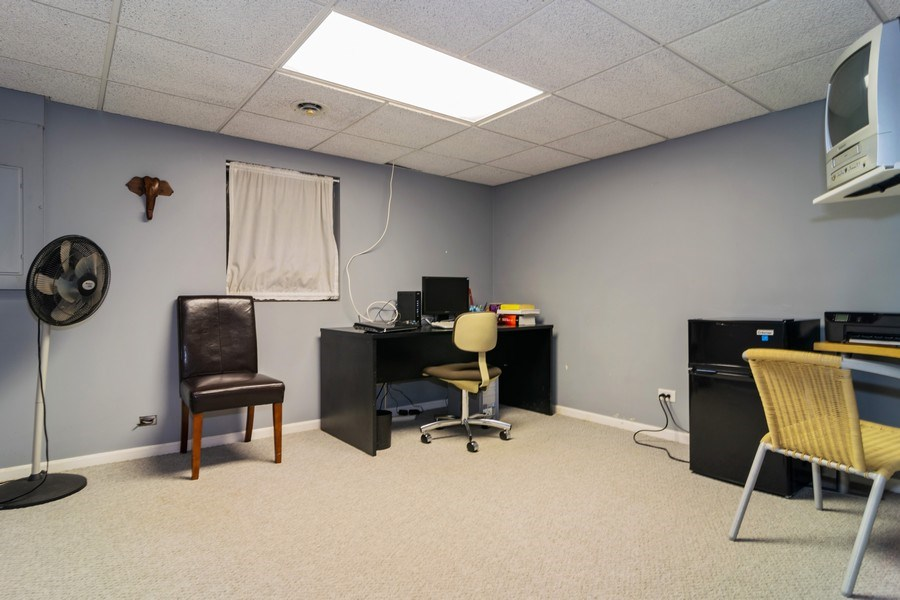 Real Estate Photography - 4234 N. Walnut Ave, Arlington Heights, IL, 60004 - Office - Lower Level